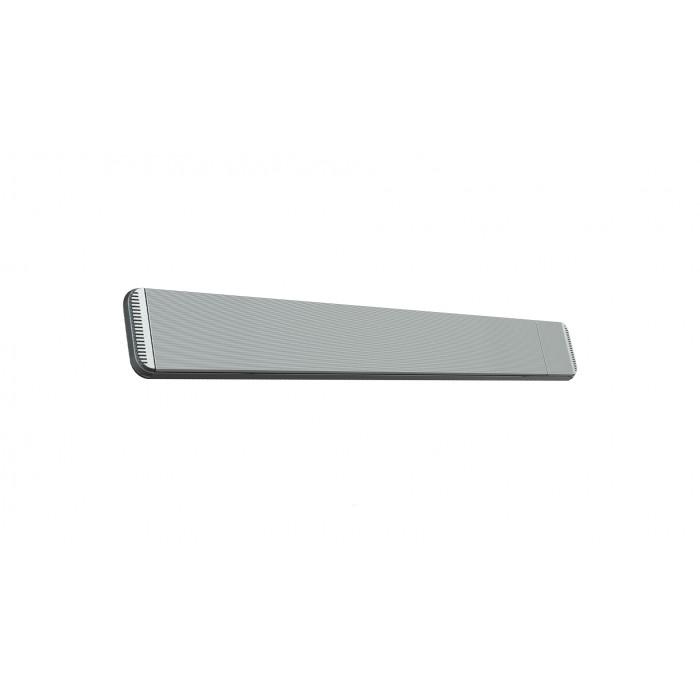 Mo-El Heatstrip 2400 Watt Hot-Top silver