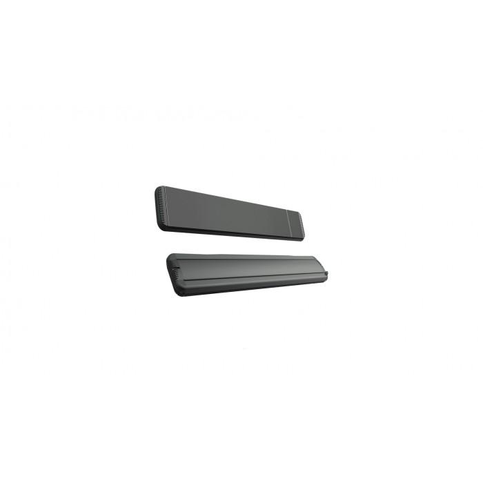 Mo-El Heatstrip 1800 Watt Hot-Top black with dimmer