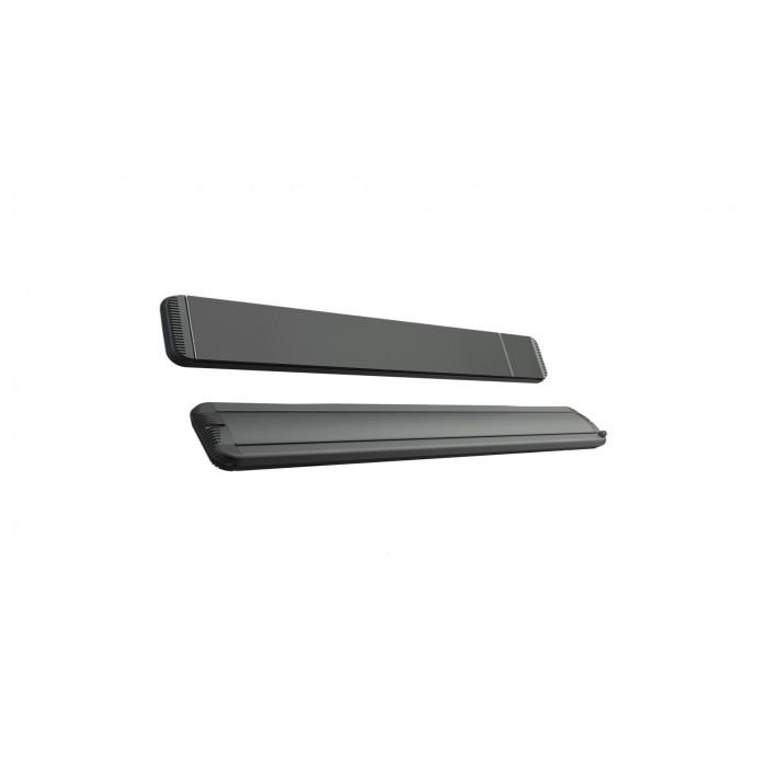 Mo-El Heatstrip 3200 Watt Hot-Top black with dimmer
