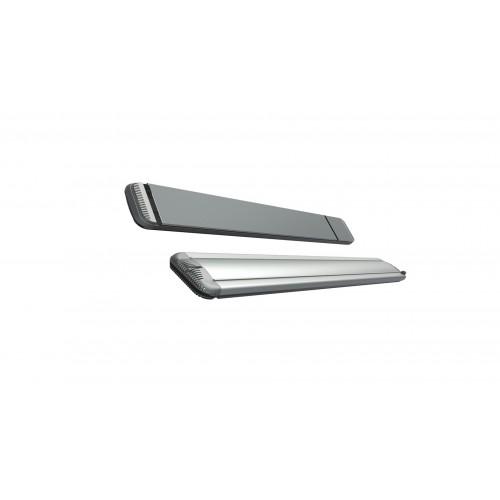 Mo-El Heatstrip 3200 Watt Hot-Top silver with dimmer