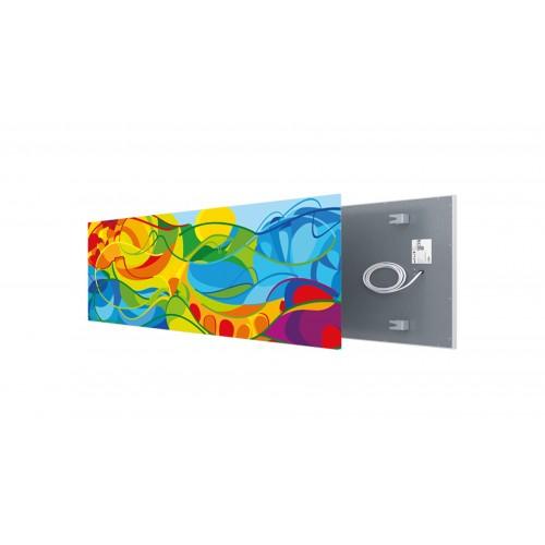 Welltherm canvas print 610 Watt metal panel
