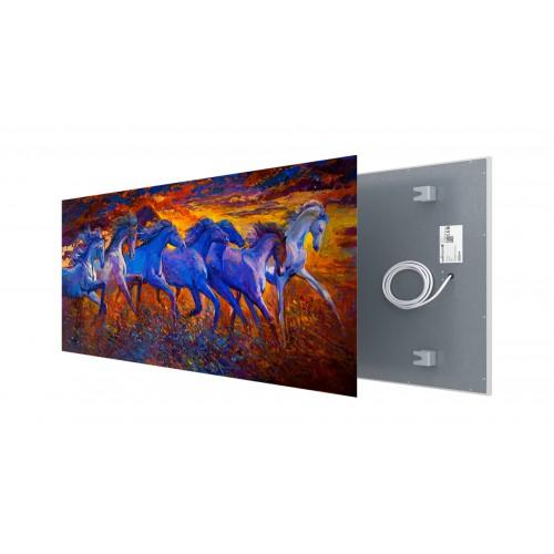 Welltherm canvas print 910 Watt metal panel