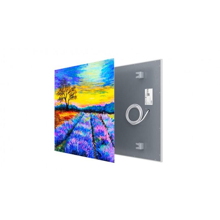 Welltherm canvas print 330 Watt metal panel
