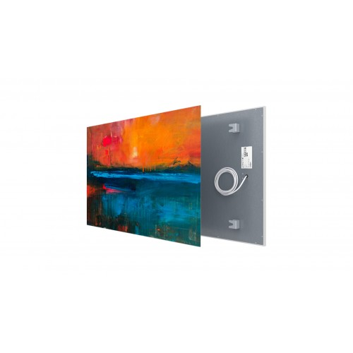 Welltherm canvas print 510 Watt metal panel