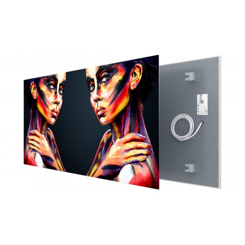 Welltherm canvas print 1210 Watt metal panel