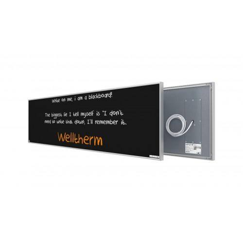 Welltherm 625 Watt chalkboard panel with frame