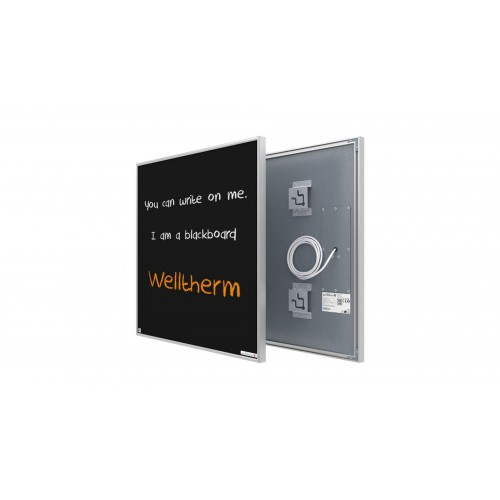 Welltherm 370 Watt chalkboard panel with frame