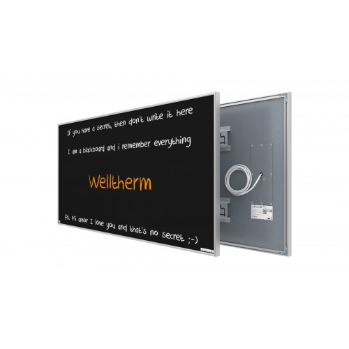 Welltherm 780 Watt chalkboard panel with frame