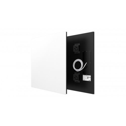 Welltherm 370 Watt   panel in satin white