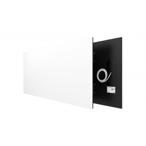Welltherm 1250 Watt   panel in satin white