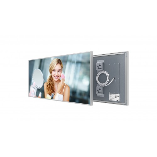 Welltherm 360 Watt Mirror panel with frame