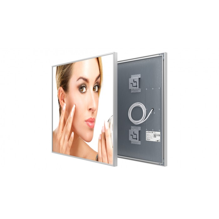 Welltherm 370 Watt Mirror panel with frame