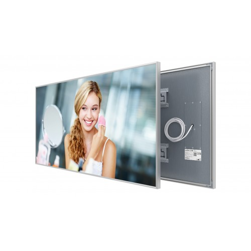 Welltherm 780 Watt Mirror panel with frame