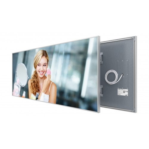 Welltherm 930 Watt Mirror panel with frame