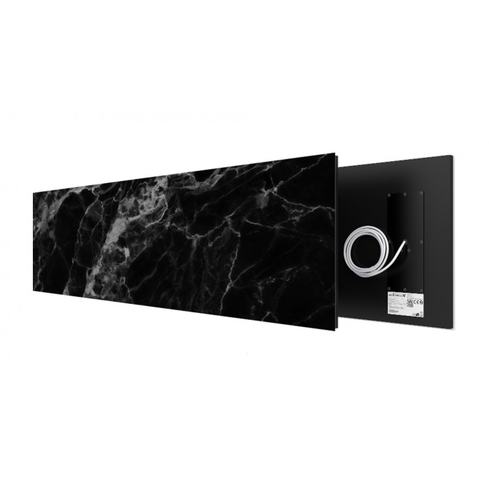 Black Marble 625 Watt stone art panel Welltherm