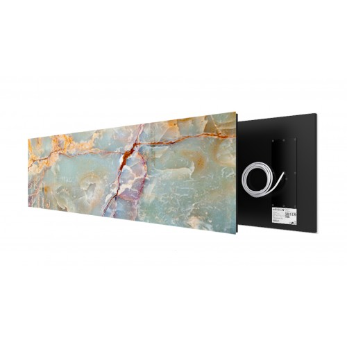 Green Marble 625 Watt stone art panel Welltherm