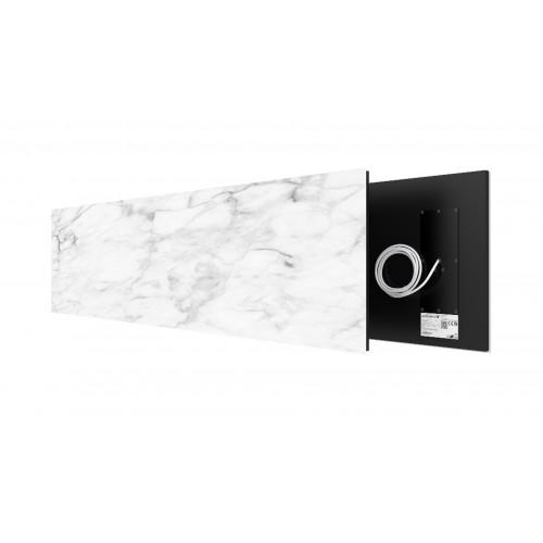 White Marble 625 Watt stone art panel Welltherm