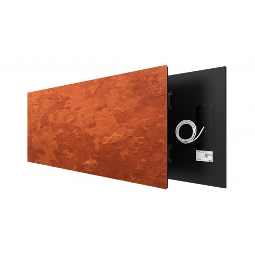 Rusty Rock 930 Watt stone art panel Welltherm