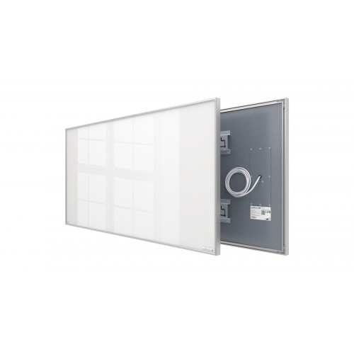 Welltherm 780 Watt white glass panel with frame