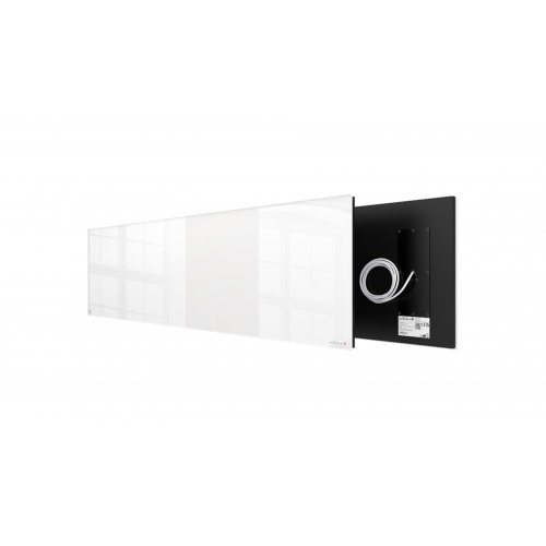 Welltherm 625 Watt white glass panel  frameless
