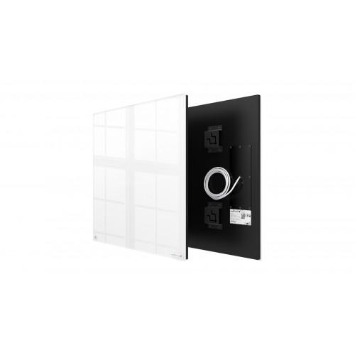 Welltherm 370 Watt white glass panel  frameless