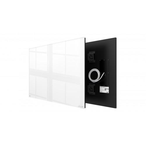 Welltherm 580 Watt white glass panel  frameless