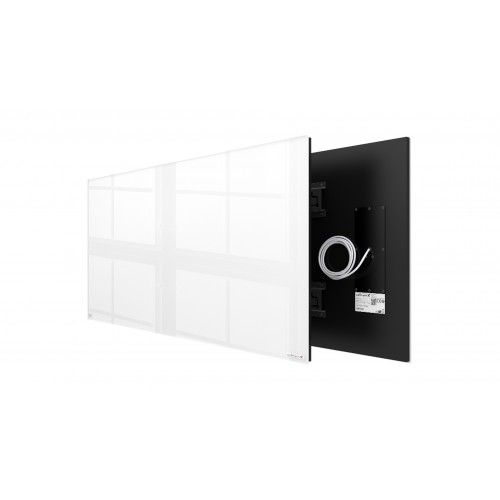 Welltherm 780 Watt white glass panel  frameless