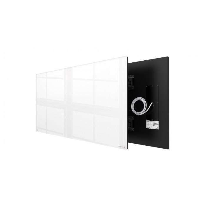Welltherm 780 Watt white glass panel  frameless
